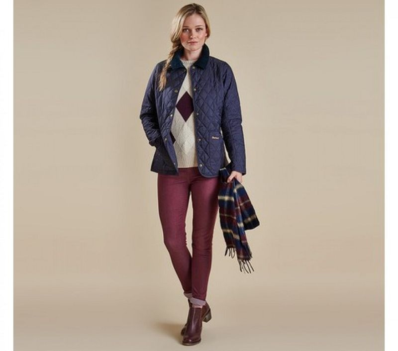 Barbour Women Annandale Quilted Jacket Navy