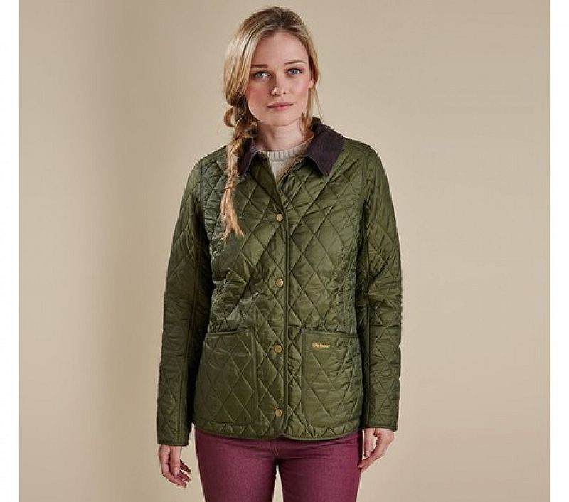 Barbour Women Annandale Quilted Jacket Olive