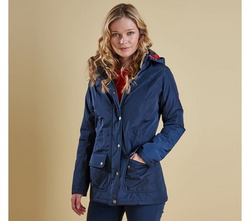 Barbour Women Aspley Jacket Navy