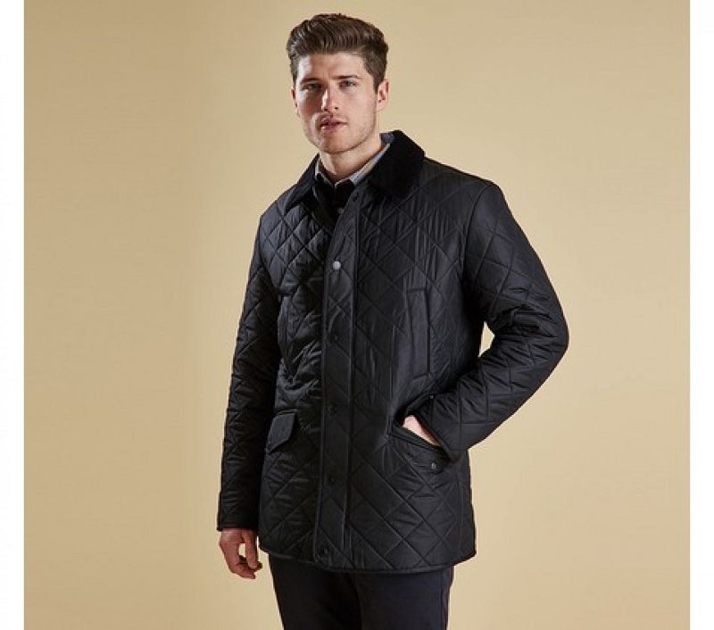 Barbour Men Bardon Quilted Jacket Black