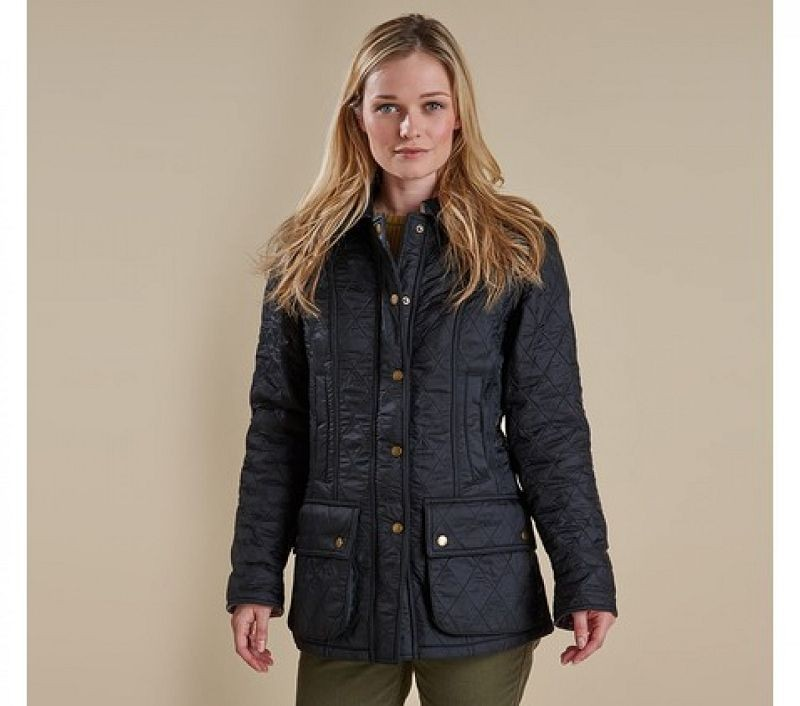 Barbour Women Beadnell Polarquilt Jacket Black/Black
