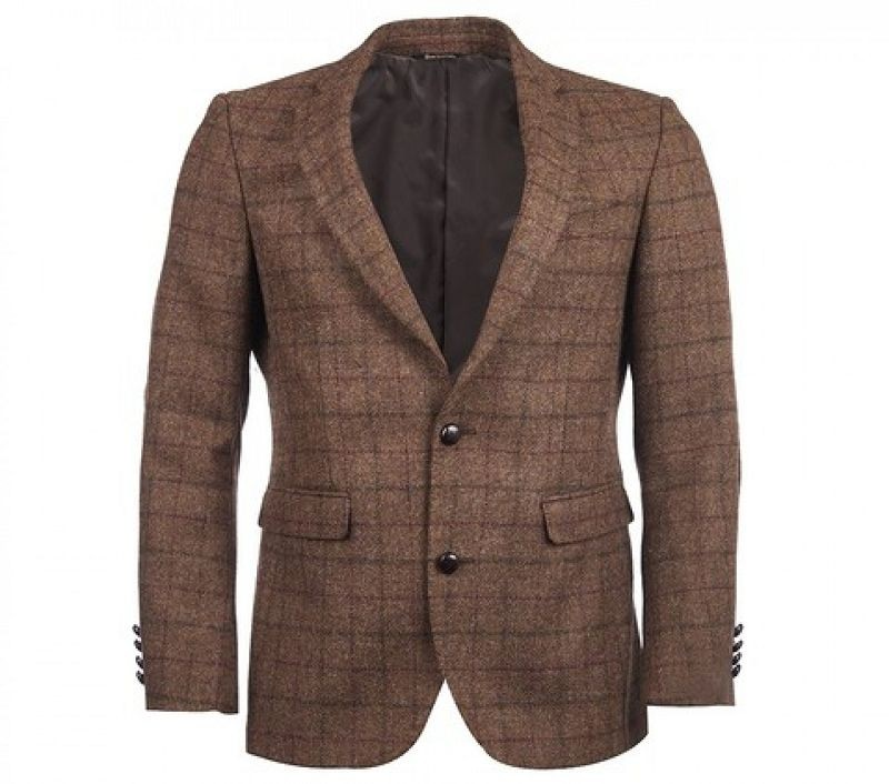 Barbour Men Beckington Tailored Jacket Brown