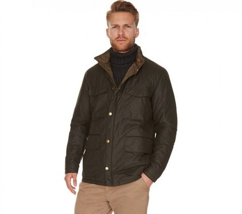 Barbour Men Bedley Quilted Jacket Olive