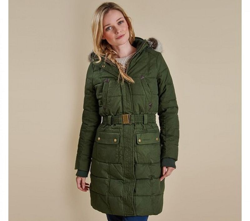 Barbour Women Belton Quilted Jacket Olive/Classic