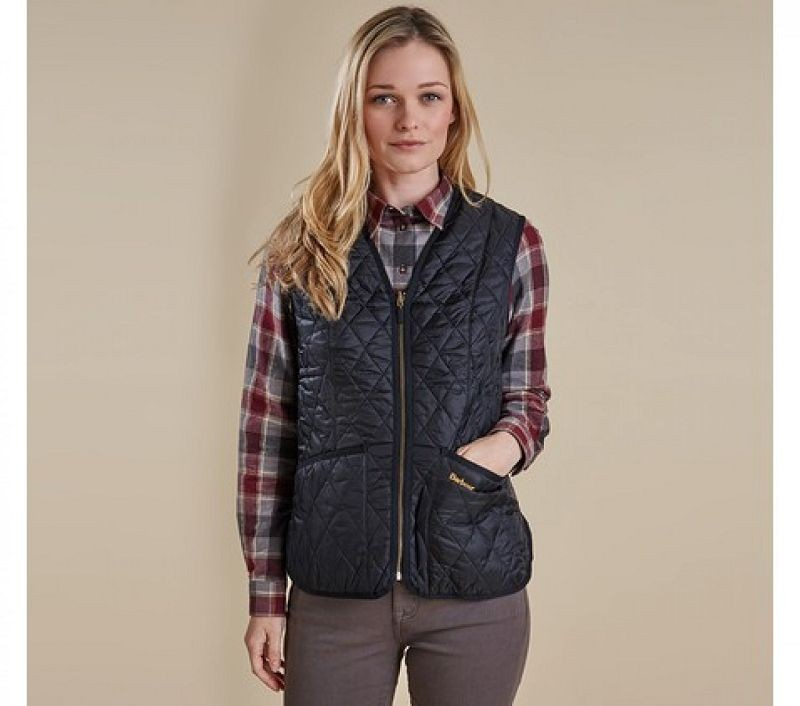 Barbour Women Betty Interactive Liner Black