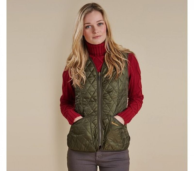 Barbour Women Betty Interactive Liner Olive