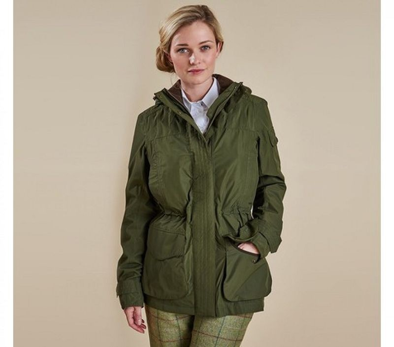 Barbour Women Bishopdale Jacket Olive