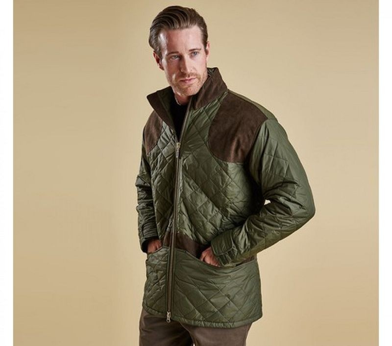 Barbour Men Brearton Jacket Olive