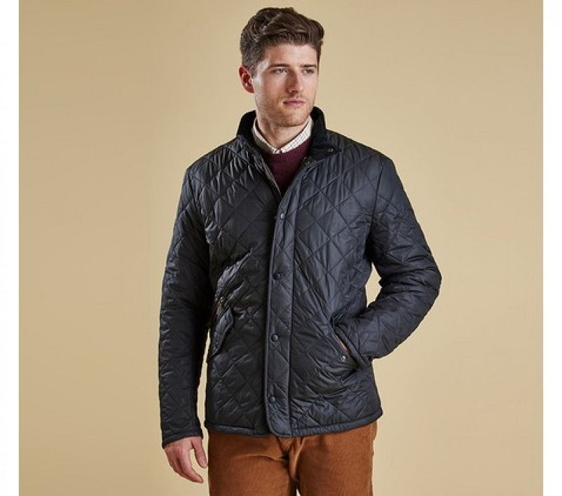 Barbour Men Chelsea Sportsquilt Jacket Navy