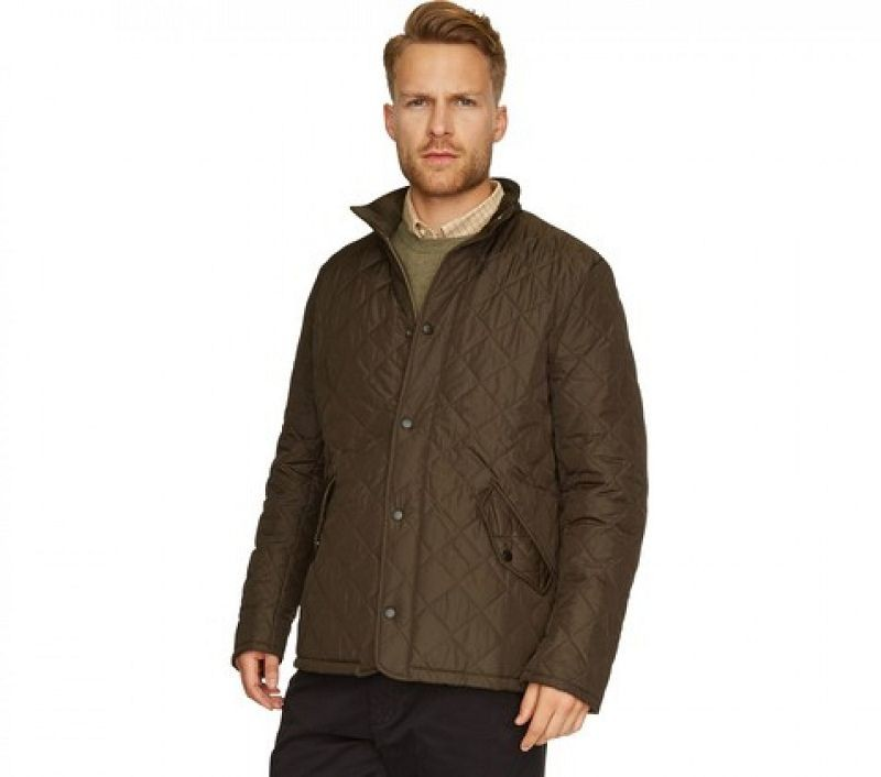 Barbour Men Chelsea Sportsquilt Jacket Olive Lifestyle