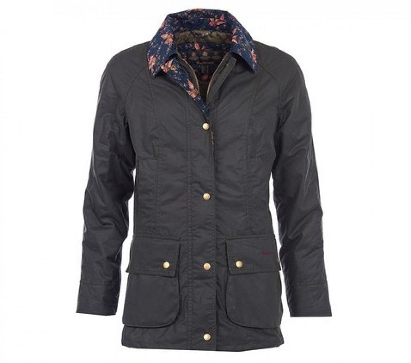 Barbour Women Fell Wax Jacket Sage
