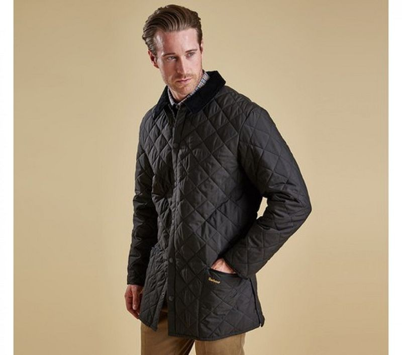 Barbour Men Eskdale Quilted Jacket Black
