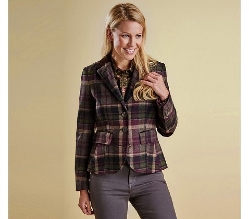 Barbour Women Fell Tailored Jacket Olive