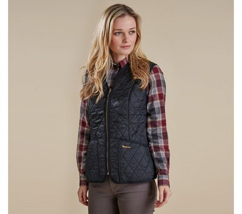 Barbour Women Fleece Betty Liner Black