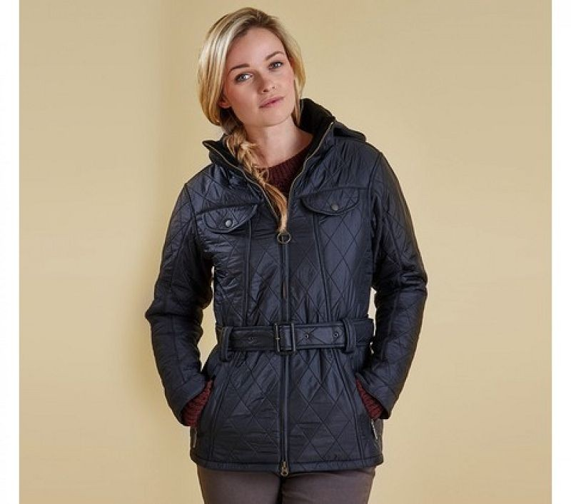 Barbour Women Grace Polarquilt Jacket Black