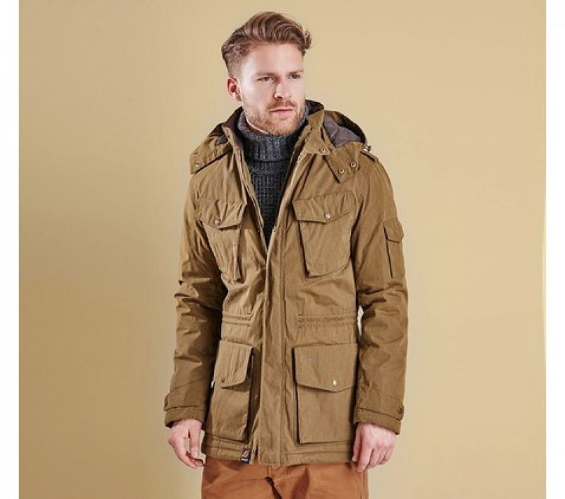 Barbour Men Hemble Jacket Dark Sand