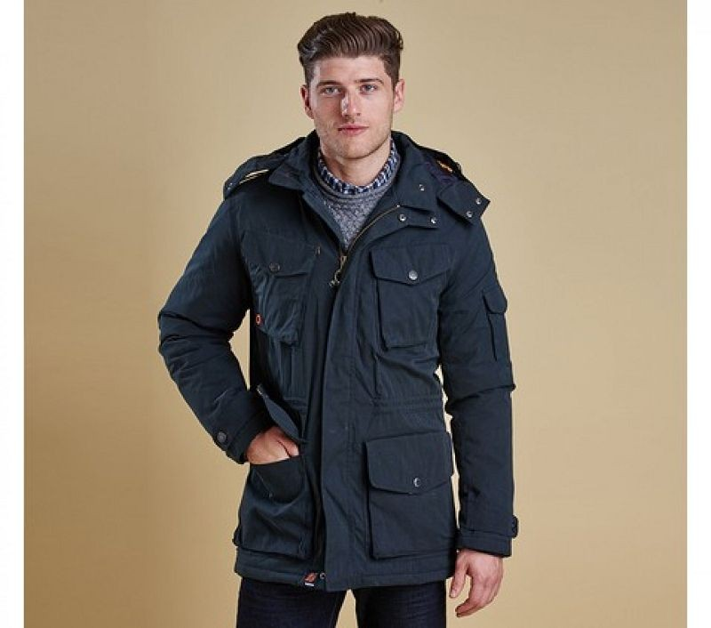 Barbour Men Hemble Jacket Navy