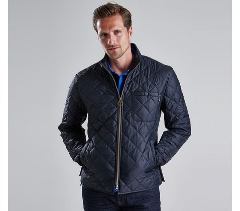Barbour Men Axle Quilted Jacket Black