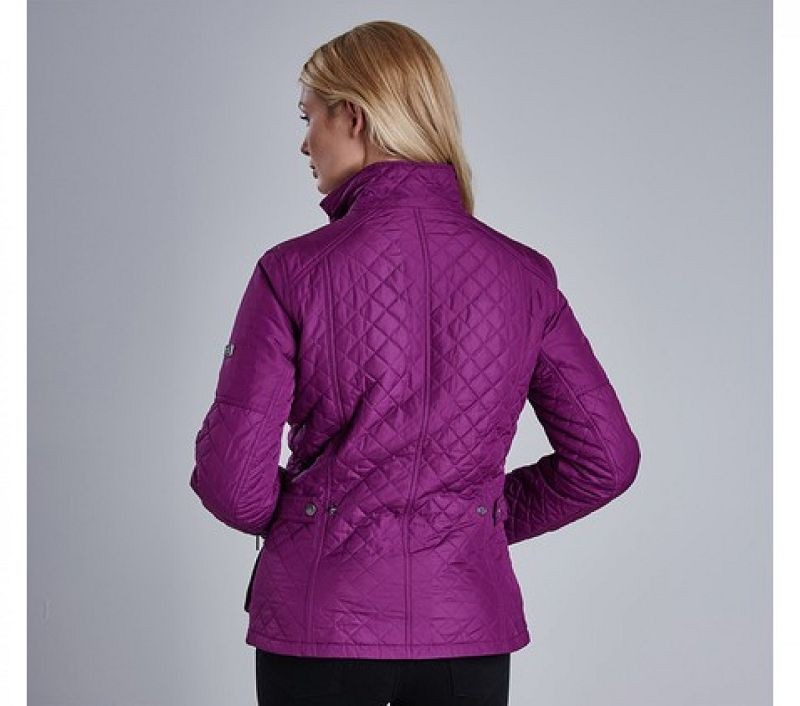 Barbour Women Fireblade Quilted Jacket Bitterberry