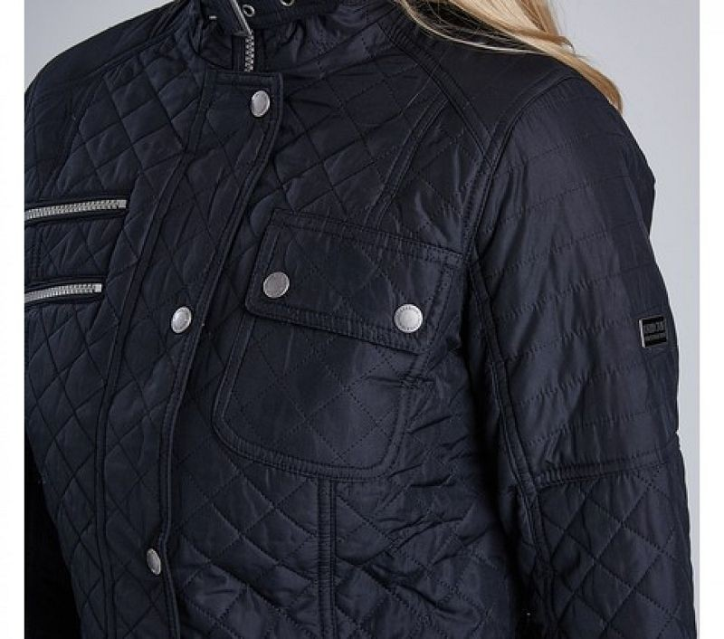 Barbour Women Fireblade Quilted Jacket Black