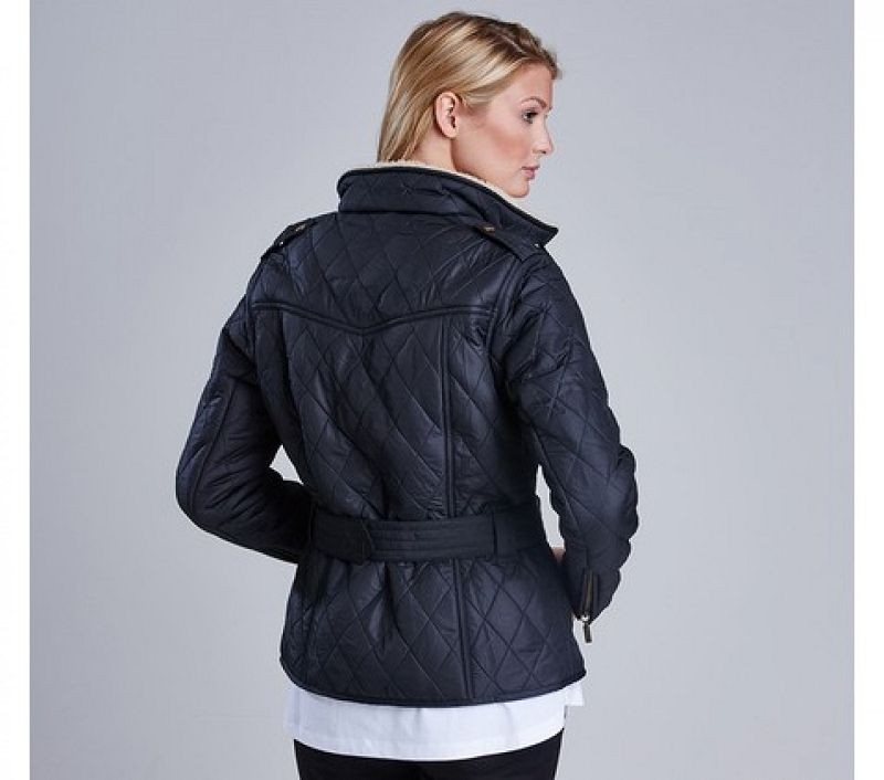 Barbour Women Matlock Quilted Jacket Black/Natural