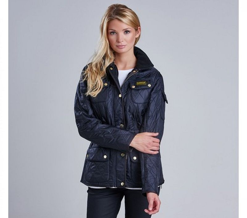 Barbour Women Polarquilt Jacket Black/Black
