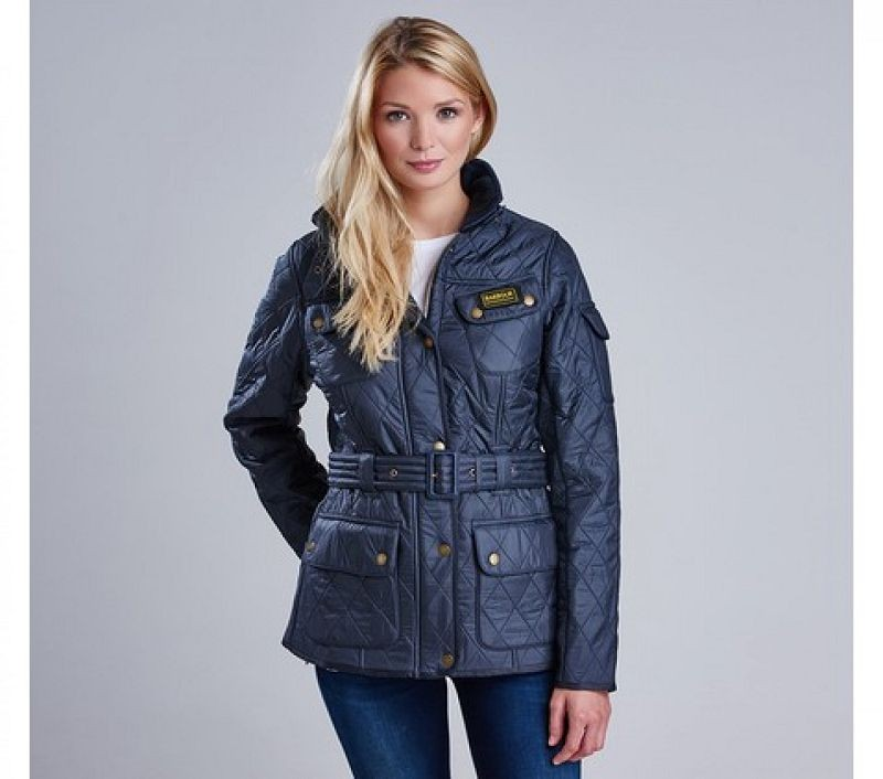 Barbour Women Polarquilt Jacket Navy