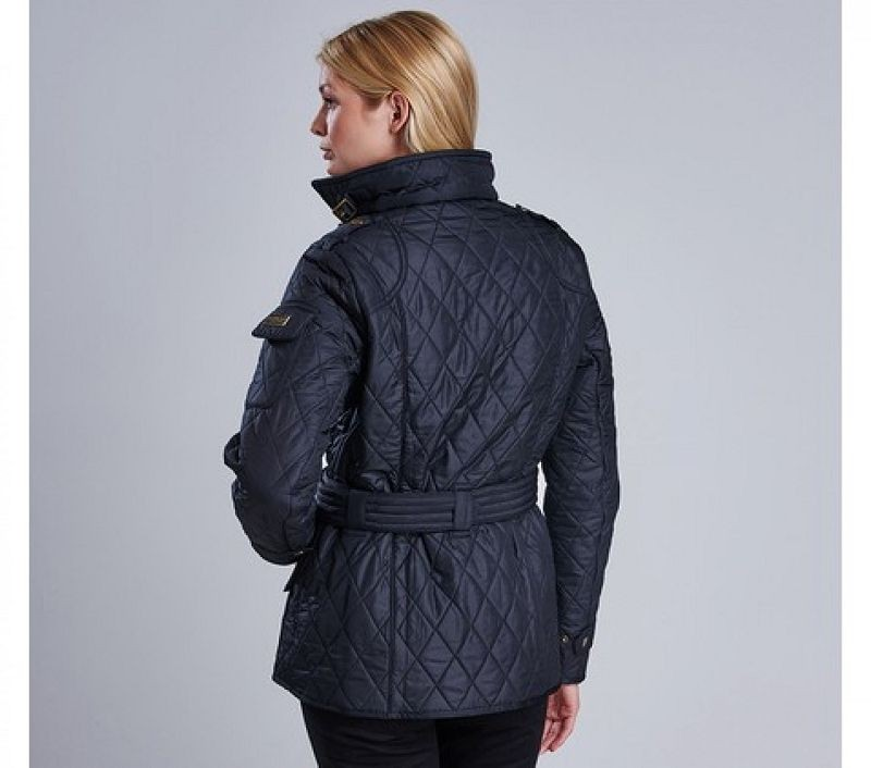 Barbour Women Tourer Polarquilt Black/Black