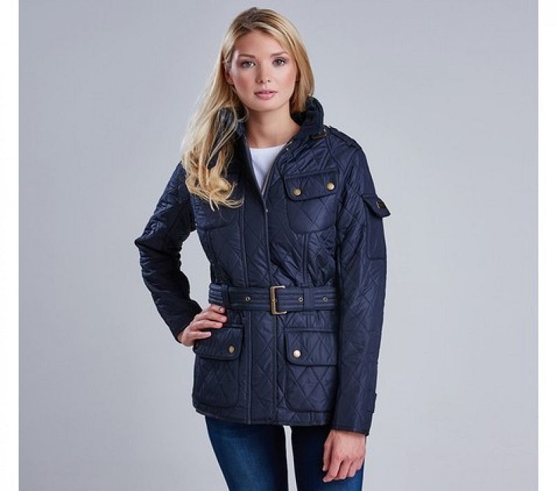 Barbour Women Tourer Polarquilt Navy/Navy