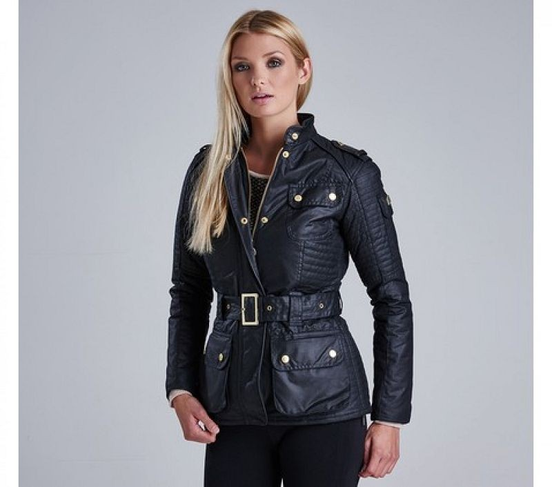 Barbour Women Vanier Wax Jacket Black