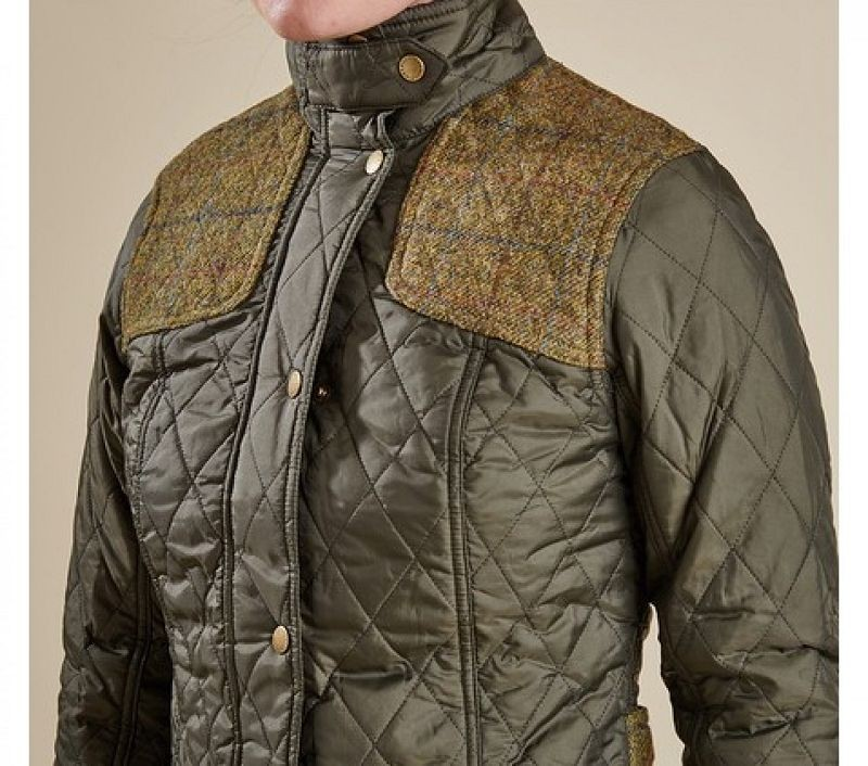 Barbour Women Iris Quilted Jacket Olive