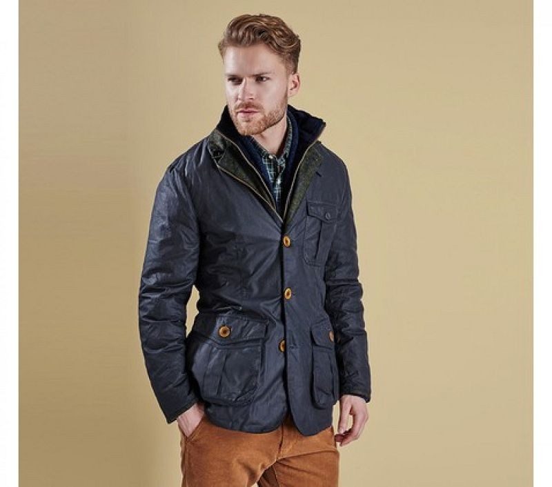 Barbour Men Kempt Wax Jacket Heritage