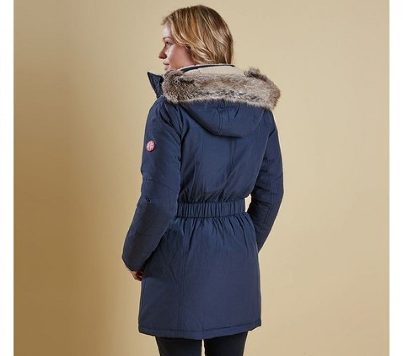 Barbour Women Kirkby Coat Navy