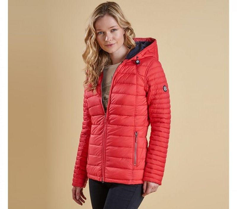 Barbour Women Landry Baffle Quilted Jacket Flare/Navy