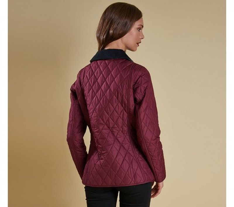 Barbour Women Montrose Quilted Jacket Bordeaux