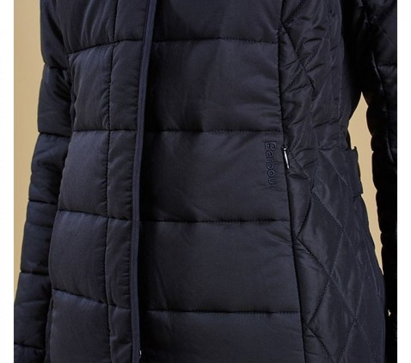 Barbour Women Straiton Quilted Jacket Black
