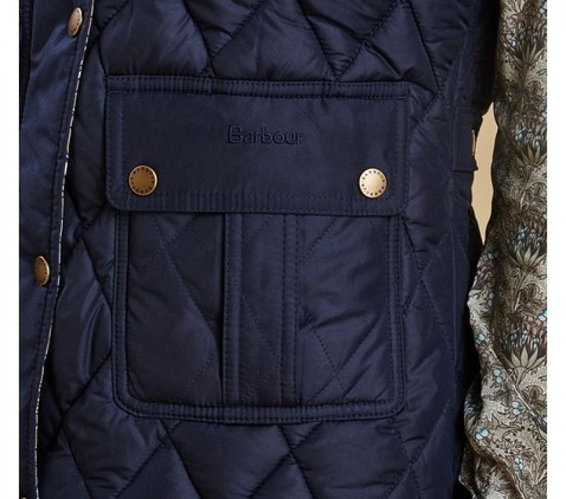 Barbour Women Swinburn Gilet Navy