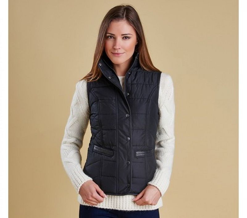 Barbour Women Terrain Gilet Black