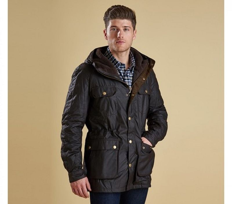 Barbour Men Northolt Waxed Jacket Rustic