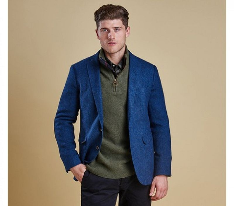 Barbour Men Parbury Tailored Jacket Blue