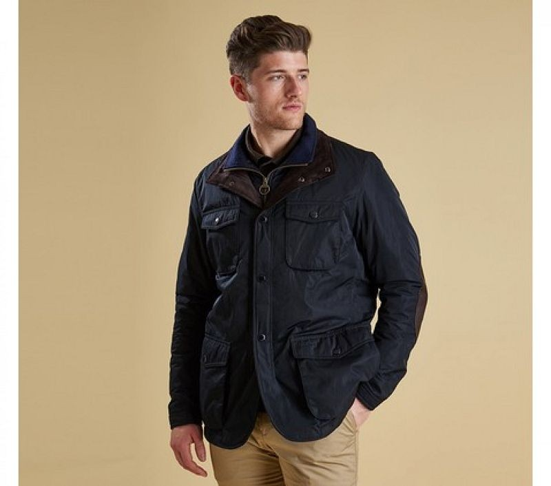 Barbour Men Parwich Jacket Navy