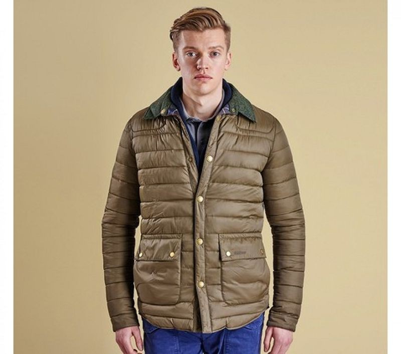 Barbour Men Reversible Quilted Jacket Olive