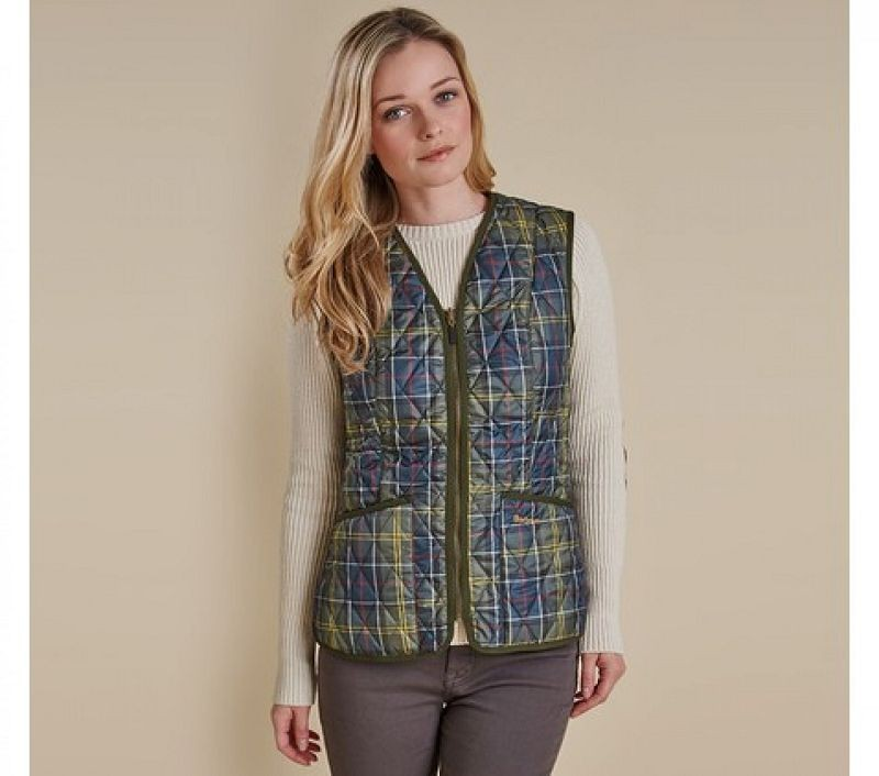 Barbour Women Tartan Betty Liner Classic