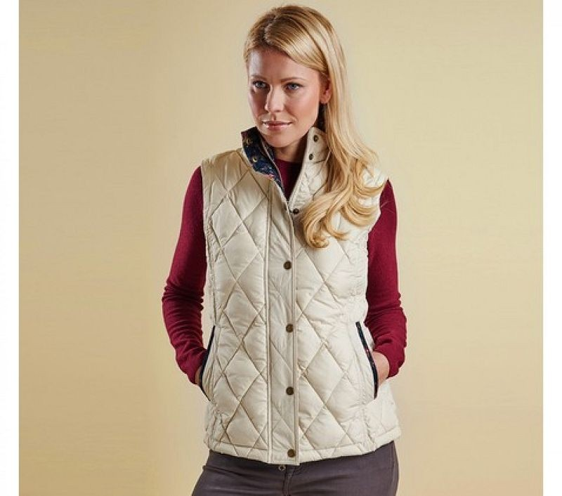 Barbour Women Tors Gilet Pearl