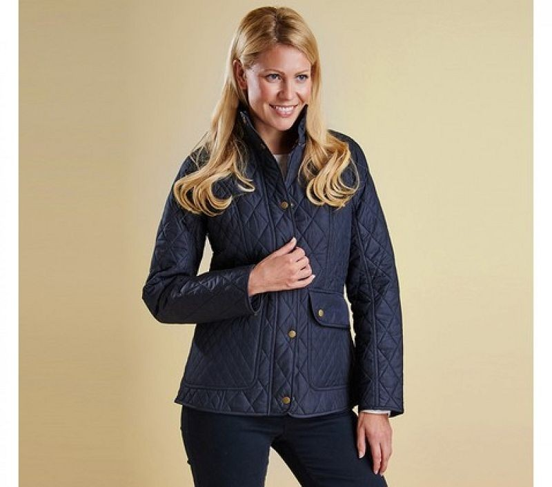 Barbour Women Tors Quilted Jacket Navy