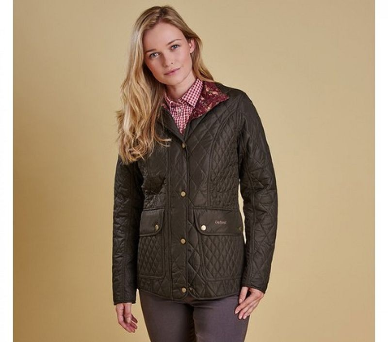 Barbour Women Tors Quilted Jacket Olive