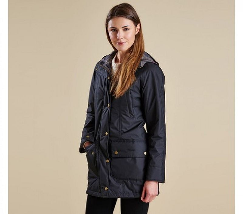 Barbour Women Westhill Reversible Beadnell Jacket Black