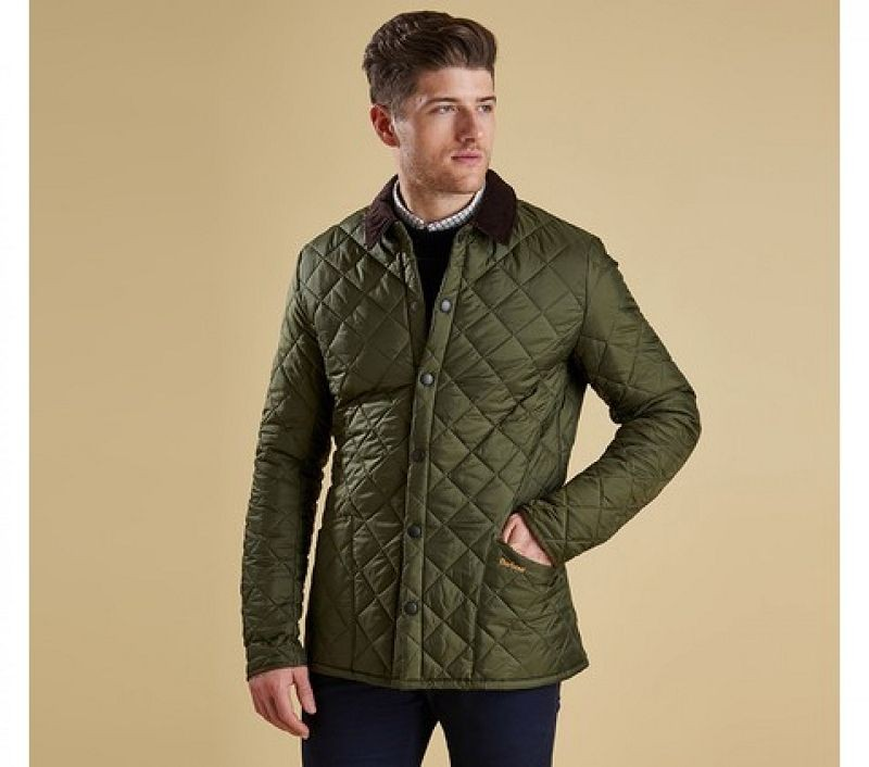 Barbour Men Heritage Liddesdale Quilted Jacket Olive
