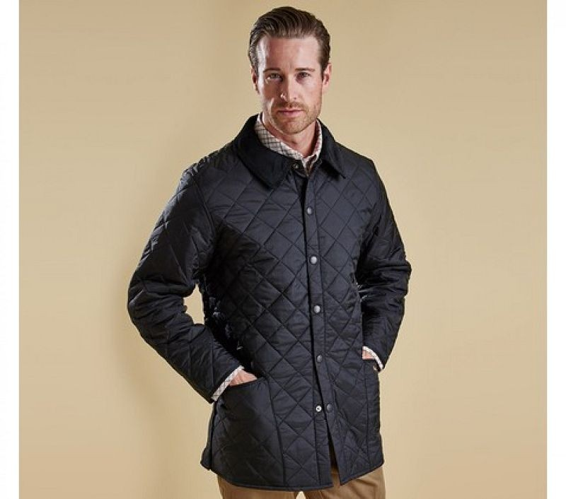 Barbour Men Liddesdale Quilted Jacket Black
