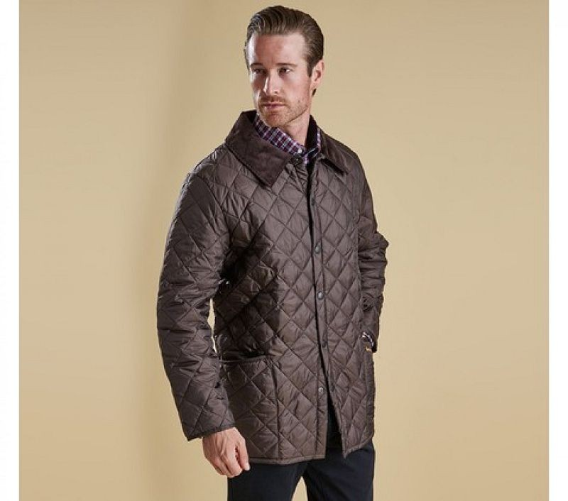 Barbour Men Liddesdale Quilted Jacket Rustic